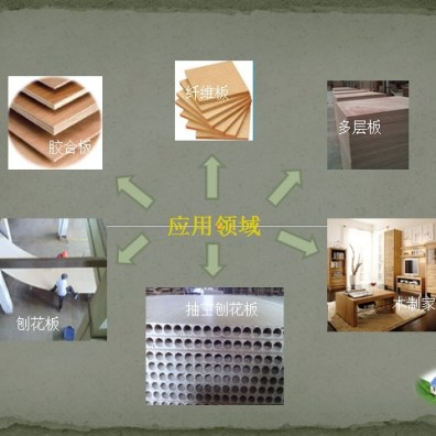 Application of BCB adhesives in wood panel industry