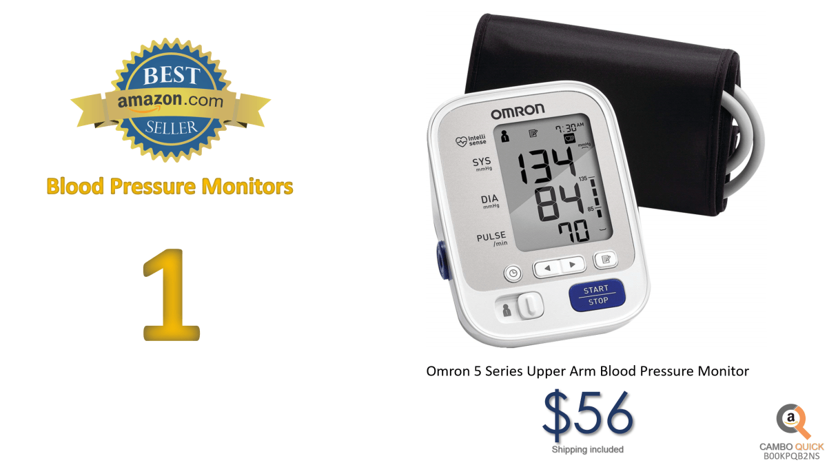 Omron 5 Series Upper Arm Blood Pressure Monitor with Cuff that fits Standard and Large Arms.png