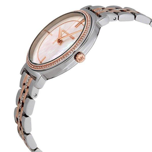 MICHAEL KORS Cinthia Crystal Mother of Pearl Dial Ladies Watch MK3831