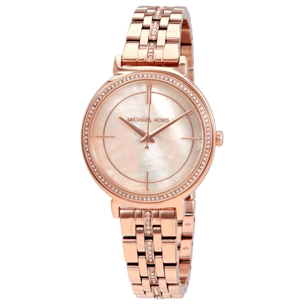 MICHAEL KORS Cinthia Mother of Pearl Dial Ladies Watch MK3643