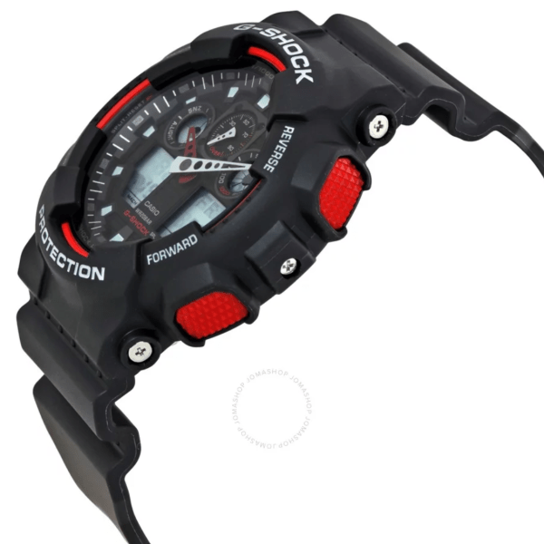 CASIO G-Shock Black Resin Strap GA100-1A4