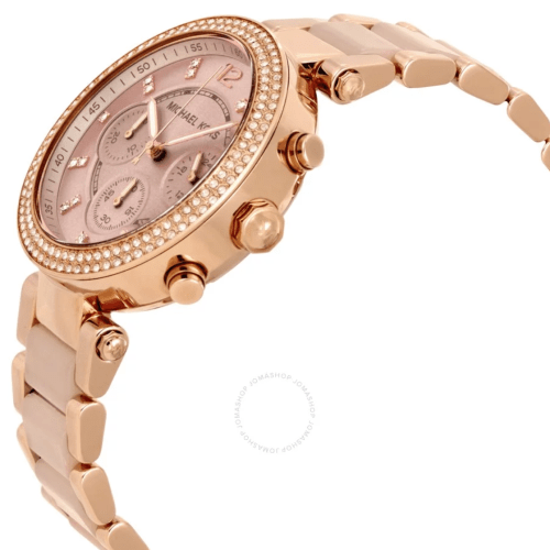 MICHAEL KORS Parker Blush Dial Ladies Watch MK5896