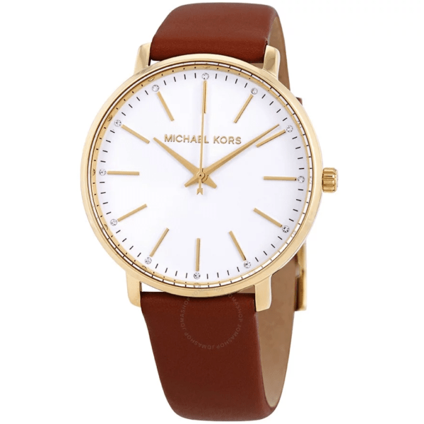 MICHAEL KORS Pyper Crystal White Sunray Dial Ladies Watch MK2740