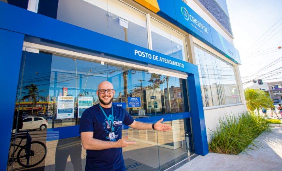 Credifoz inaugura unidade na Quinta Avenida, em Balneário Camboriú