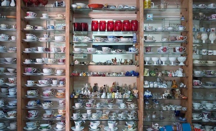 Antiquário de Balneário Camboriú tem novidades toda semana e atrai clientes de toda a região