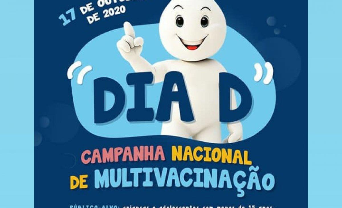 Dia D da Campanha de Multivacinação será neste sábado