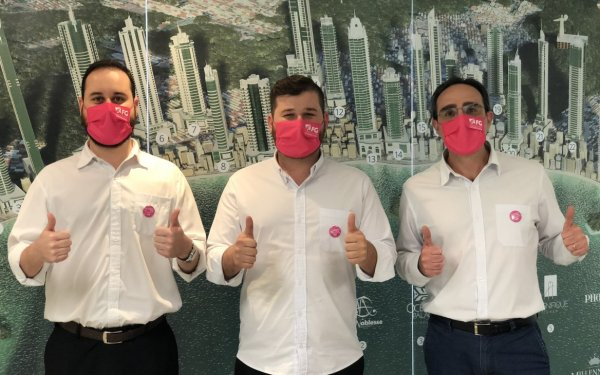 FG Empreendimentos em apoio a Campanha Outubro Rosa