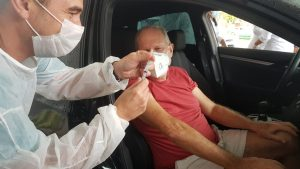 Nesta quinta-feira Balneário Camboriú segue vacinando 63+, 67+ e 40+