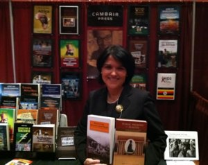 Cambria Press Ana Lucia Araujo at the Cambria Press Booth at the African Studies Association 2011 annual meeting in Washington DC.