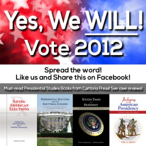 2012 Presidential Election - Yes we will - Vote 2012