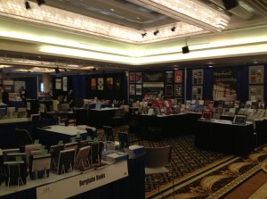Cambria Press booth at the 2013 ISA conference