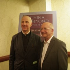 Cambria Press Sinophone World Series Reception: Victor Mair and Ron Egan