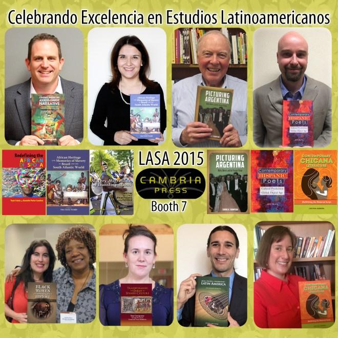 LASA 2015 Latin American Cambria Press academic publisher