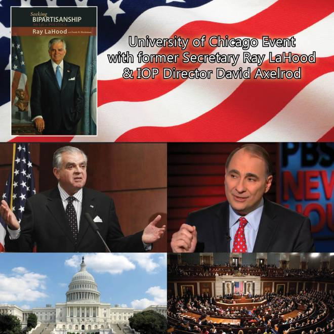 Cambria Press book author publish Ray LaHood David Axelrod Chicago