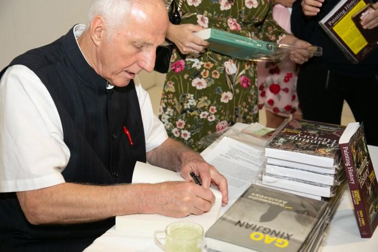 Cambria Press iPreciation Victor Mair signing