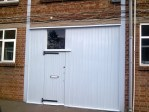The new front entrance to the premises