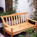 Unigely designed Pine bench