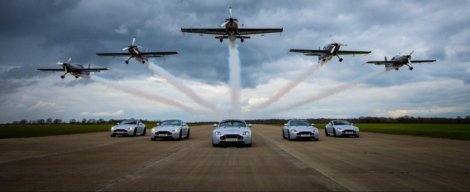 Aston Martin Vantage - Sywell Aerodrome