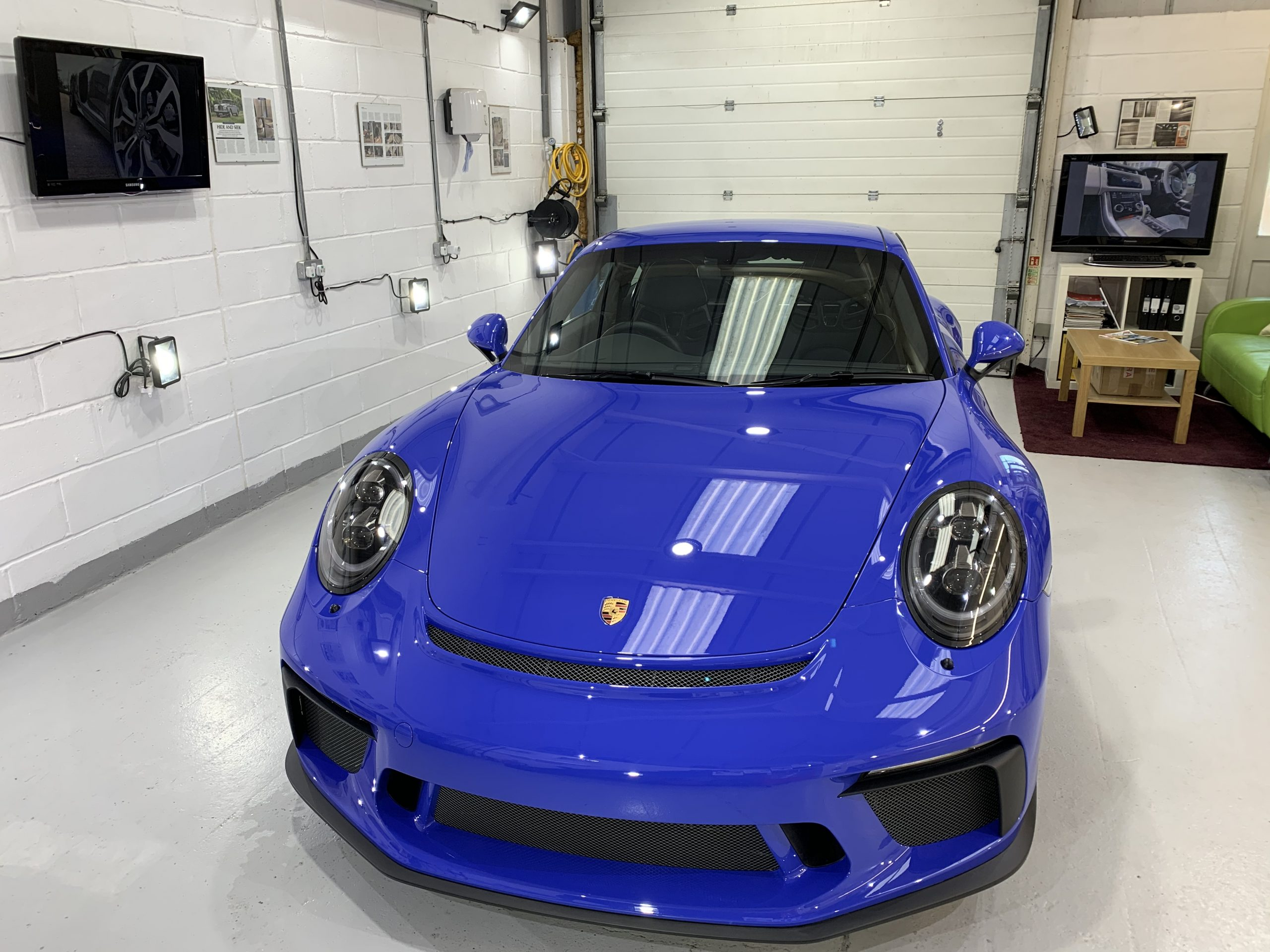 Porsche 991 2 GT3 Paint Protection