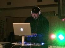 DJ Paul at the Halloween Dance.