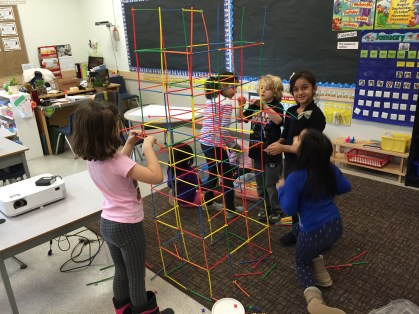 The tallest in-class structure built at Cambridge...ever!