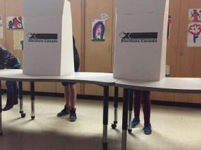 Student Vote - 2015