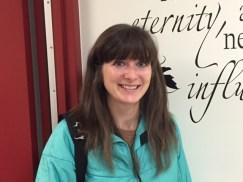 Welcome new French teacher, Roberta McLeod