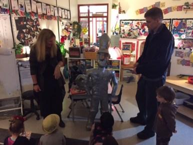 """Kindergarten friends learn about """"The Nutcracker"""""""