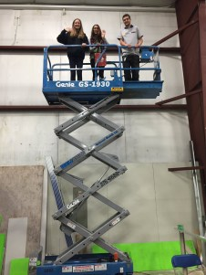 On top of the world...learning about trades at Canada Skills Competition