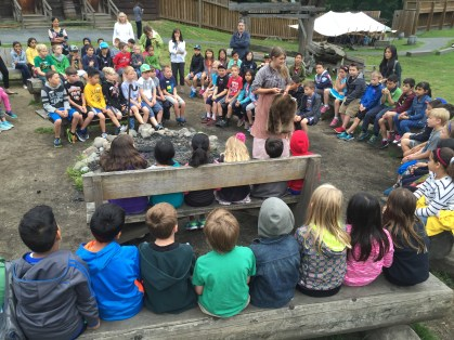 Grade 3 classes visit Fort Langley