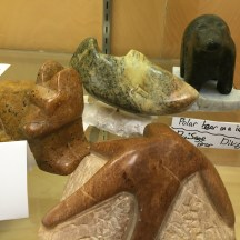 From these hands...beautiful soapstone carvings