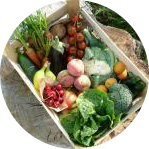 Fruit and vegetables box