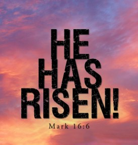 """Mark 16:6 - And he said to them, """"Do not be alarmed. You seek Jesus of Nazareth, who was crucified. He has risen; he is not here. See the place where they laid him"""