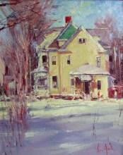 van hook-yellow house