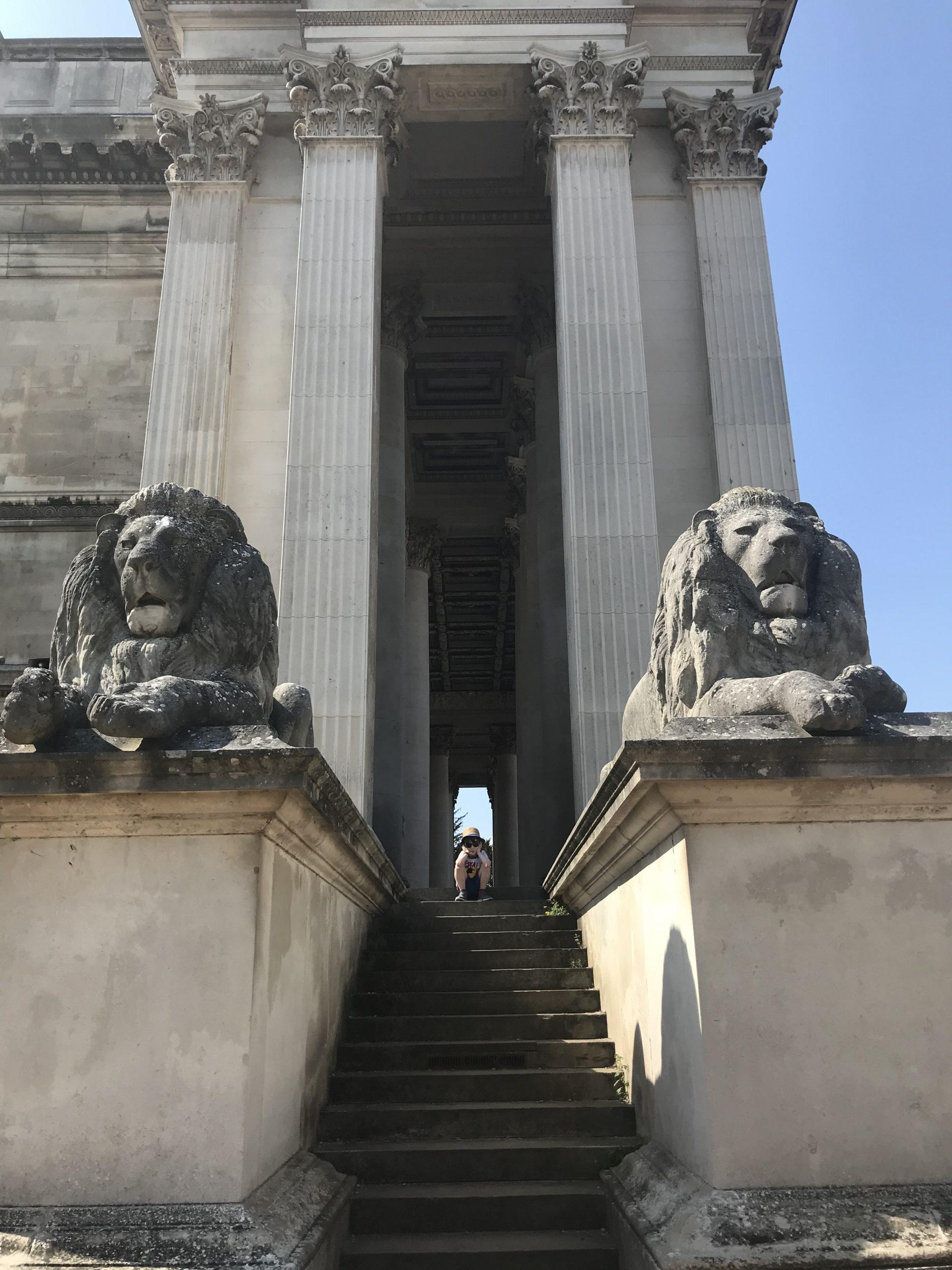 Lions Fitzwilliam Museum
