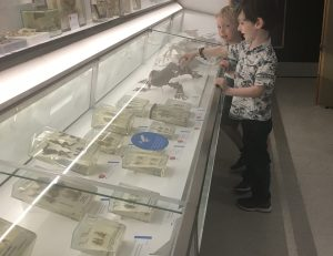 children in museum