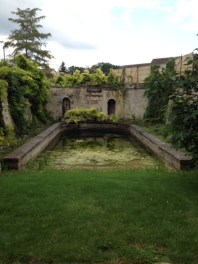 Horse bath on the grounds