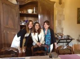Elissa, Nannie and Janet