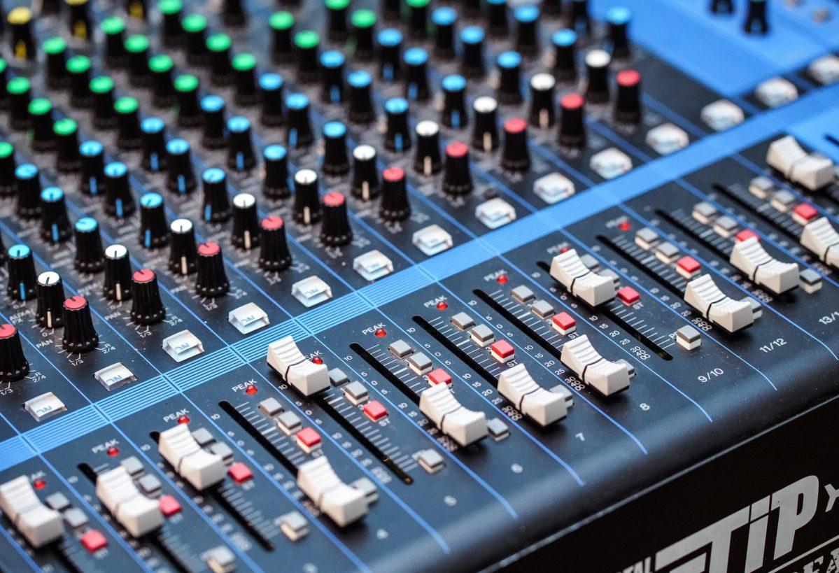 A Sound Desk