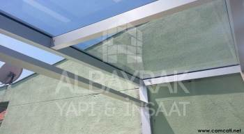 teras ustu cam kapatma 3 - Teras Üstü Cam Çatı