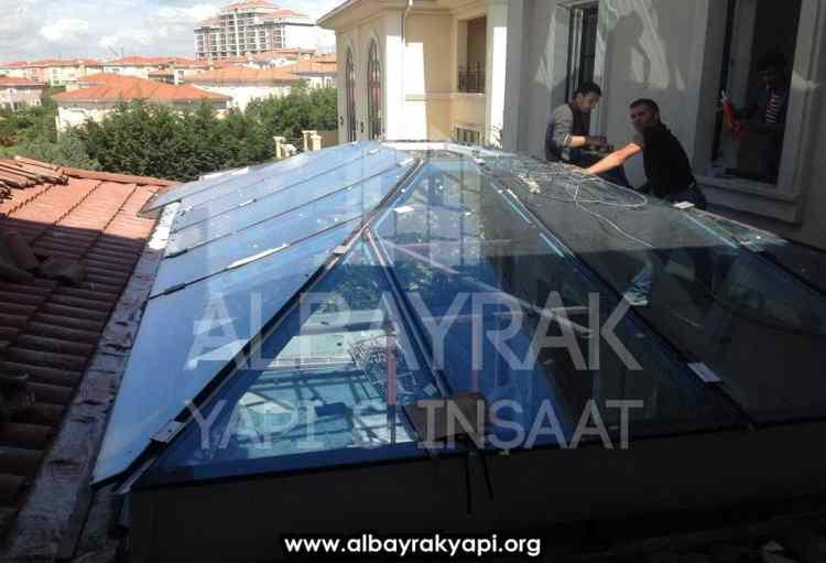 cam cati sistemleri 1 - Cam Çatı Sistemleri