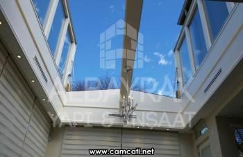 skylight cam cati 1 - Skylight Cam Çatı
