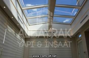 skylight cam cati 2 - Skylight Cam Çatı