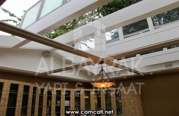 skylight cam cati 4 - Skylight Cam Çatı
