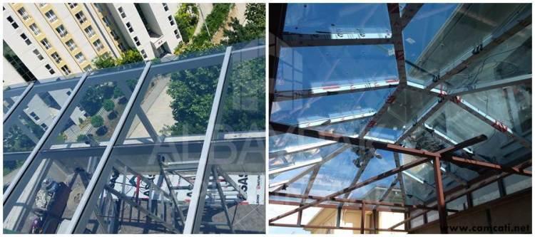 cam cati sistemleri - Cam Çatı Sistemleri - Skylight Çatı Sistemleri - Polikarbon Çatı Kaplama