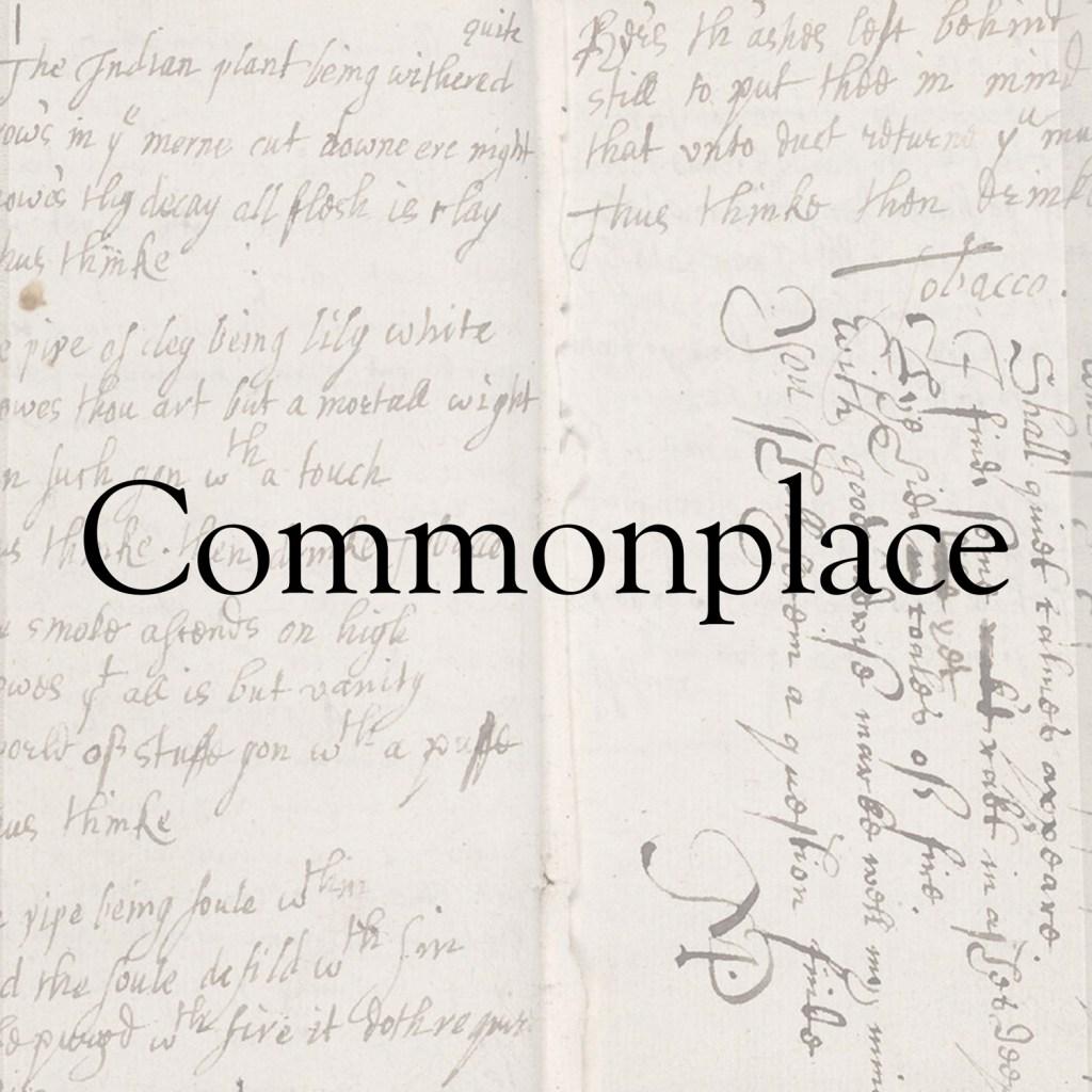 Commonplace album
