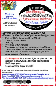 CBWG GENERAL meeting 1 oct 2014 X