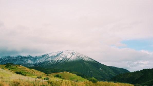 วิวระหว่างทางไป Mt.Etna บนไฮเวย์