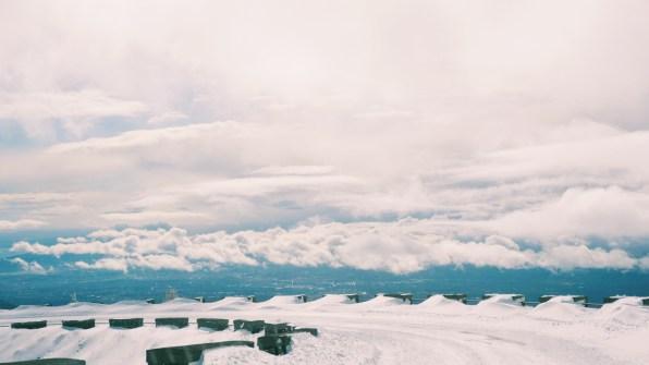 ระหว่างทางลงจาก Mt.Etna