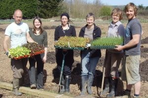 Some of our growing team regulars (left to right) Gav, Jane, Diana, Kitty, Charlotte, Jeremy
